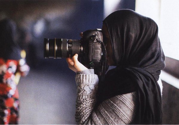 Afghan woman photographer